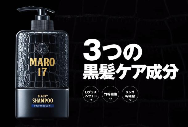 MARO17 ブラックプラス シャンプー単品画像