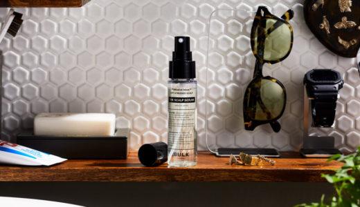 効果と特徴『バルクオムスカルプセラム』の評価と使い方、バルクオムの頭皮美容液とはなに?