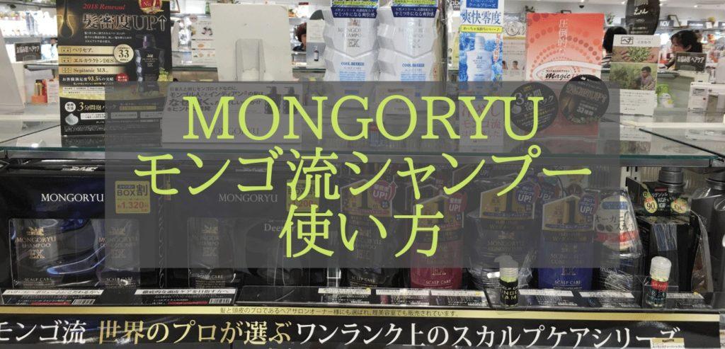 MONGORYU モンゴ流シャンプー 使い方