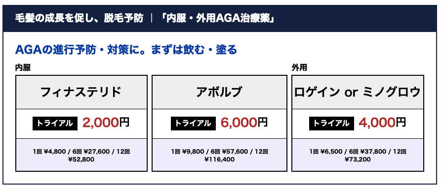 料金表___ゴリラクリニック【公式】